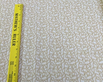 Northcott Rodeo Roundup Cotton Fabric-Cream Ropes