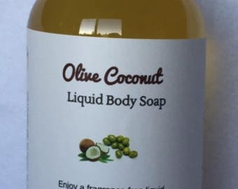 Olive Coconut Liquid Soap-For Sensitive Skin