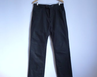 Black Men's Pants/Style:CHIP PANTS/Summer Pants/Cotton Pants/Size 33/34