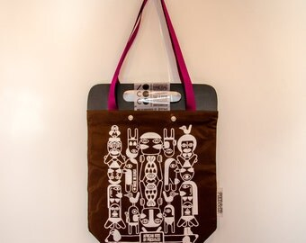 Tote Bag African Brown Kiss