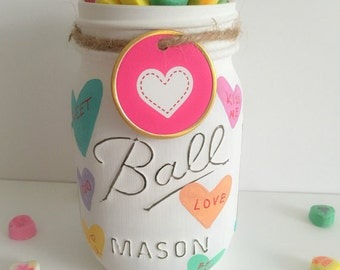 Gift Of Love Candy Jar With Personal Name Tag Candy