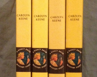 Nancy Drew Book Club Editions with Blank Backs and no Spine Number