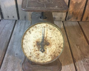 Vintage Colombia Scale/Vintage Kitchen Scale/Antique Kitchen Scale/Columbia Kitchen Scale/Vintage Comumbia Scale/Vintage Scale