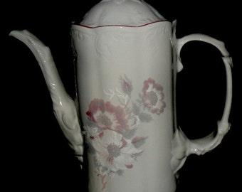 Vintage Romanian Coffee or Tea Pot~ARPO Curtea De Arges Fine Romanian Porcelain~Vintage Kitchen Deco~Housewarming Gift~Special Gift~