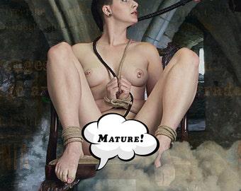 BDSM Art, Nude Female Art, Kinky Photo, Erotic Photo, Nipples, Erotic Art, Kinky Art, Fetish Art, Nude Woman, Sexy Art, Mature, Fetish Photo