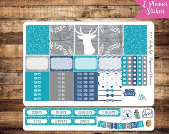 E Planner Country Weekly Planner Stickers {#22}