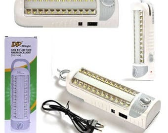 Lamp of rescue 2 in 1 Rechargeable 24 led 220V & Cob dimmer