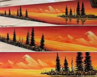 Summer Sunset Handsaw