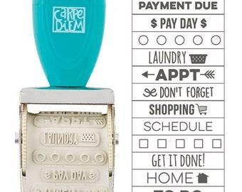 Carpe Diem Domestic Bliss Roller Stamp