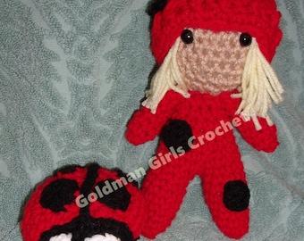 Lady Bug and her little Ladybug