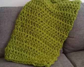 Handmade Chunky Throw