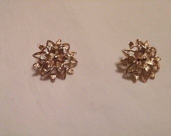Vintage Sarah Coventry Clip on Earrings FREE SHIPPING!