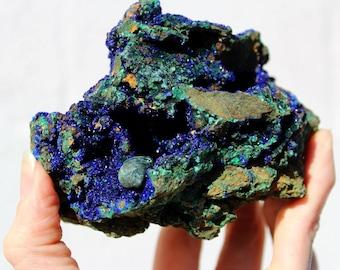 Azurite, Rough, Blue Ray Energy