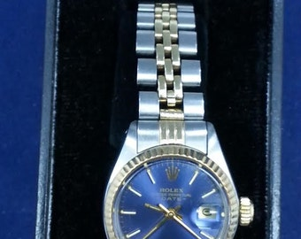 Rolex Ladies Oyster Perpetual Two Tone Ref 6917 Serial #5815XXX