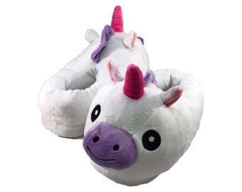 Customized Kids Unicorn Slippers