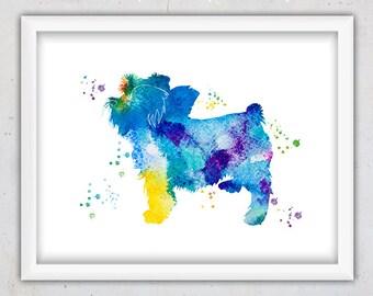 Dog Art, Watercolor Yorkshire Terrier Print, Instant Download Print Dog, Nursery Decor, Dog Print, Home Decor, Printable Digital Art, Poster