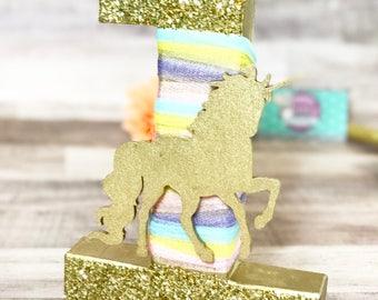 Unicorn Letters - Unicorn Birthday Party - Unicorn Decorations - Rainbow Birthday Decoration - Rainbow Birthday Decor - First Birthday Party