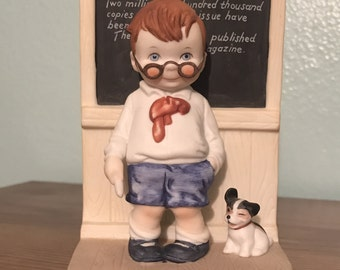 """The Heirloom Tradition """"The Proud Pupil"""" Porcelain Figurine"""