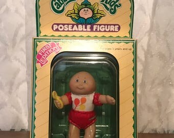 Cabbage Patch Kids Poseable Figure - First Edition - Rhonda Jill