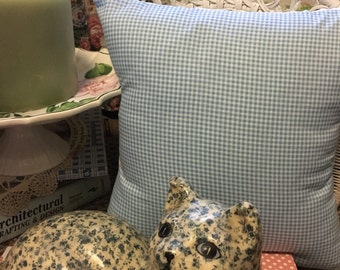 Checked Pillow Cover