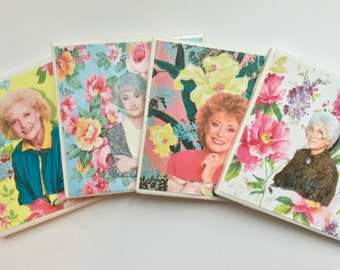 Golden Girls Coaster Set. One of a Kind!