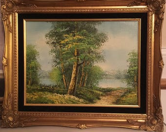 Original Oil Painting by Osmund Caine