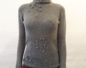 Mohair Sweater, MADE TO ORDER, Knitting sweater, knitted sweater, Hand Knit Sweater, Women's sweater, Knitting
