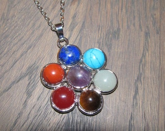 Necklace with pendant Chakra