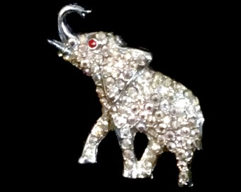 Elephant Brooch Pin