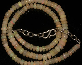 Ethiopian welo opal necklace 71Cts - gift for women - gift for her