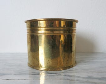 Brass Plant Decor, Vintage Brass Planter, Jungalow Planter, Succulent Planter, Boho Planter Boho Plant Pot, Jungalow Plant Pot, Gift for Her