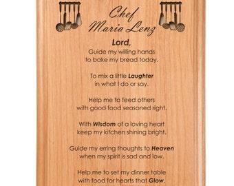 Cook Prayer Plaque
