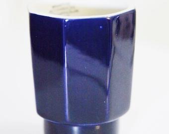 Dansk International Designs LTD NR/Japan , Ceramic Navy Cup , Modern Shape