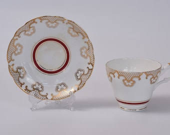 Crown Lanbil Teacup and Saucer