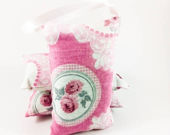 50 Party Favors for Women - Scented Sachets - Lavender Sachet - Pink Party Favors - Spring Party Favors - Bridal Shower Favors