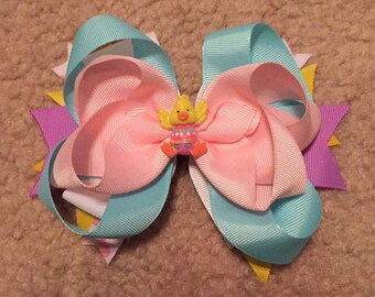 Easter ducky bow