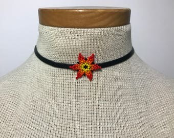 Embera Chami Flower Choker