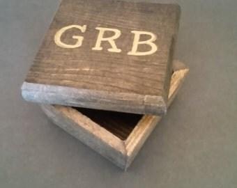 Initials Keepsake Box