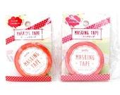Dots Washi Tape - Red & Pink - amifa