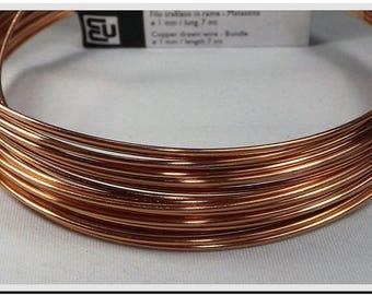 bare copper wire 0.6 mm to 0.6 mm wire jewelry, costume jewelry, electronic gauge copper wire, copper