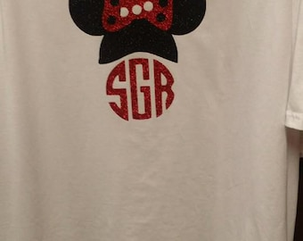 Minnie Monogram shirt
