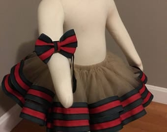 ribbon tutu and headband