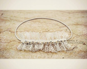 Baby headbands, vintage style,  newbornprop,  photoprops