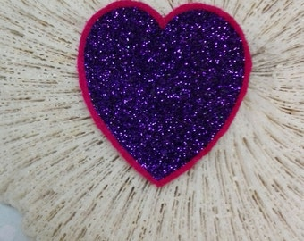 Heart big, Purple / Purple Heart Big