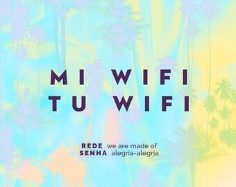 Wi-Fi-Décor-Digital Archive