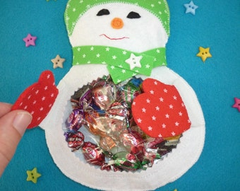 Felt favor/candy/gift bags, various styles