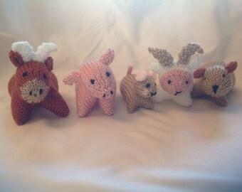5 Farmyard animals.