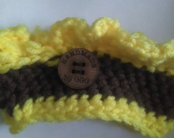 Sunflower cup cozy