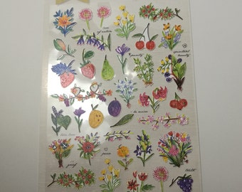Sweet Flower Garden Stickers! Free Shipping within Australia!