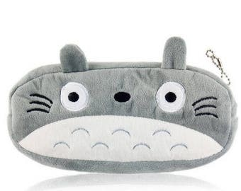 Totoro plush pouch for famous Japanese cartoon